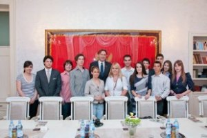 Alumni meet with the speaker of the Montenegrin Parliament,