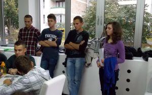 Danijel Buzov, Nino Lojpur, Abedin Kustura, and Dženana Brkić.