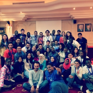 YES alumni representatives from 38 countries gathered in Amman.