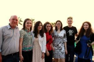 Gabriel Coleman(AC staff),Marija Indova(Macedonia),Alma Jashari(Kosovo),Olta Myslimi(Albania),Rebecca Strattan( AC staff South East Europe), Nino Lojpur( Bosnia&Hercegovina) and Lili Valtcheva(Bulgaria)